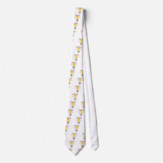 Usted gana corbata personalizada