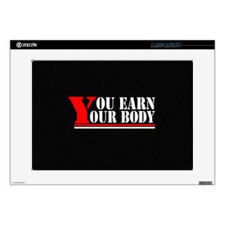 Usted gana su cuerpo portátil 38,1cm skin