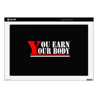 Usted gana su cuerpo portátil skin