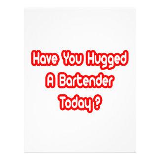 ¿Usted ha abrazado a un camarero hoy? Tarjetas Publicitarias