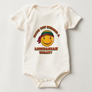 ¿Usted ha abrazado a un Lithuanian hoy? Body Para Bebé