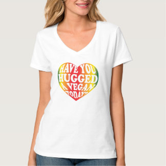 ¿Usted ha abrazado a un vegano hoy? Camiseta Polera