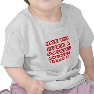 ¿Usted ha abrazado a una Software Engineer hoy? Camiseta