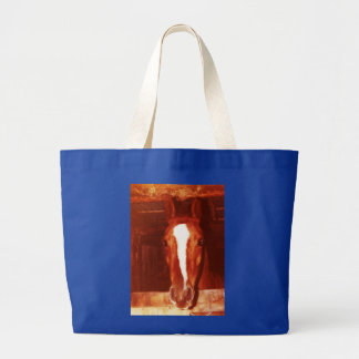 ¿Usted ha abrazado su caballo hoy? Bolsa Tela Grande