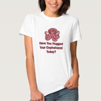 ¿Usted ha abrazado su cefalópodo hoy? Muñeca de W Remera