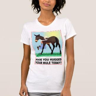¿Usted ha abrazado su mula hoy? Playeras