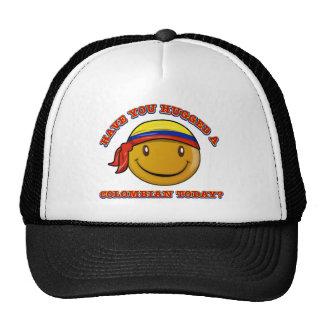 ¿Usted ha abrazado un colombiano hoy? Gorras De Camionero