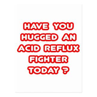 ¿Usted ha abrazado un combatiente ácido del Tarjetas Postales