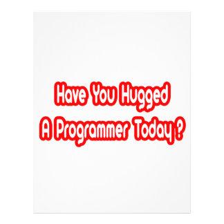 ¿Usted ha abrazado un programador hoy? Tarjetas Informativas