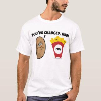 Usted ha cambiado, el hombre (la patata a las playera