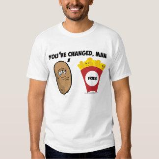 Usted ha cambiado, el hombre (la patata a las remera