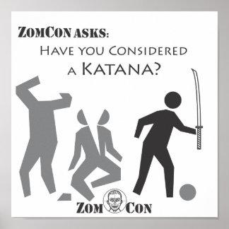 ¿Usted ha considerado un Katana Impresiones