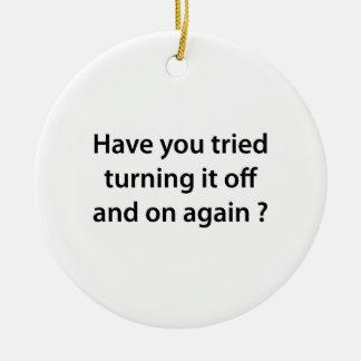 ¿Usted ha intentado darle vuelta por intervalos Ornamento Para Arbol De Navidad