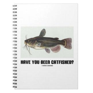 ¿Usted ha sido Catfished? (Ejemplo del siluro) Libreta Espiral