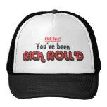 Usted ha sido gorra del camionero de Rick Roll'd