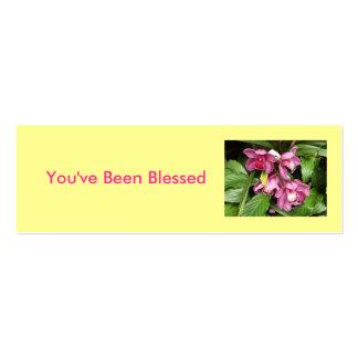 Usted ha sido tarjeta de juego bendecida tarjetas de visita