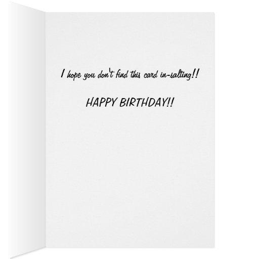 Usted ha sido tarjetas de felicitación Pranked