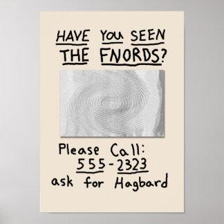 ¿Usted ha visto el FNORDS? Poster