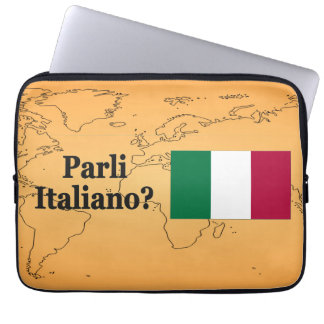 ¿Usted habla italiano? en italiano. FB de la Manga Portátil