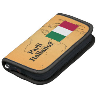 ¿Usted habla italiano? en italiano. FB de la Planificador