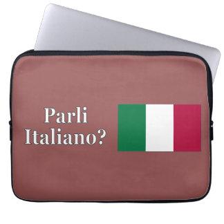 ¿Usted habla italiano? en italiano. Wf de la Mangas Computadora
