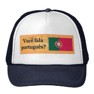 ¿Usted habla portugués? en portugués. FB de la Gorras