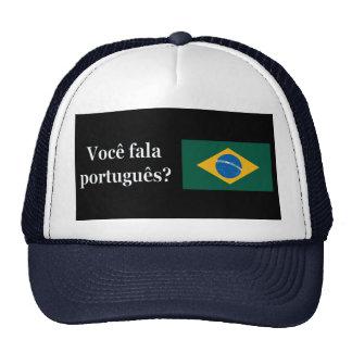¿Usted habla portugués? en portugués. Wf de la Gorra