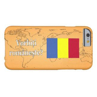 ¿Usted habla rumano? en rumano. Wf de la bandera Funda De iPhone 6 Barely There