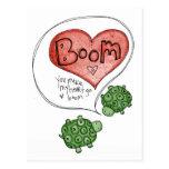 usted hace mi corazón postales
