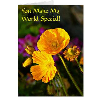 Usted hace mi tarjeta del día de la Especial-Amist