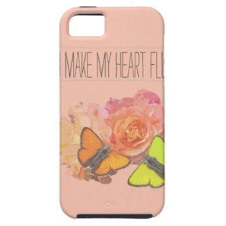 Usted hace que mi corazón agita iPhone 5 carcasas