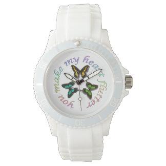Usted hace que mi corazón agita relojes de pulsera