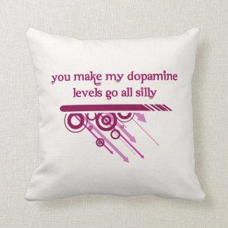 Usted hace que mis niveles de la dopamina van todo cojín