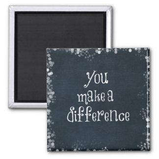 Usted hace una cita de la diferencia imanes
