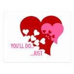 Usted hará a la tarjeta del día de San Valentín Postal