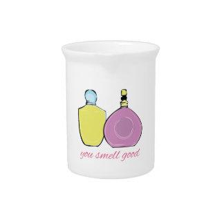 Usted huele bueno jarras para bebida