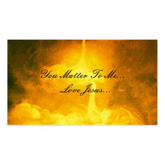 Usted importa a mí, amor Jesús Tarjetas De Visita