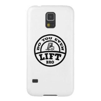 ¿Usted incluso levanta Bro? Carcasa Galaxy S5