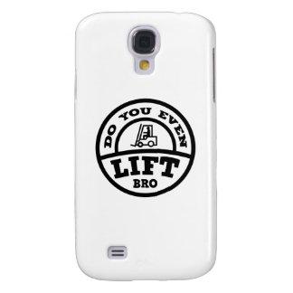 ¿Usted incluso levanta Bro? Samsung Galaxy S4 Cover