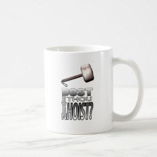 ¿Usted incluso levanta? Tazas De Café