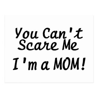 Usted linado me asusta Im una mamá Postales