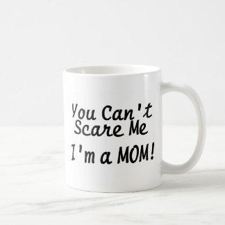 Usted linado me asusta Im una mamá Tazas De Café