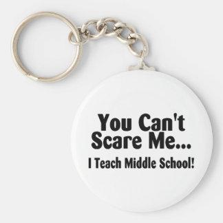 Usted linado me asusta que enseño a la escuela sec llaveros personalizados