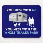 ¡… Usted lío con el parque de caravanas entero! Tapetes De Raton