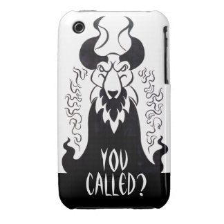 ¿Usted llamó? Caja de la casamata del teléfono del iPhone 3 Protectores