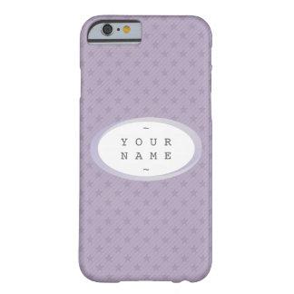 USTED LO NOMBRA > las estrellas de la púrpura y Funda Para iPhone 6 Barely There