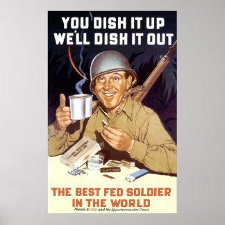 Usted lo sirve para arriba -- WW2 Impresiones