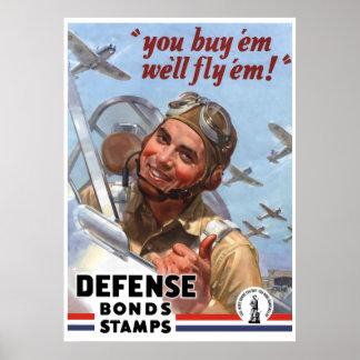 Usted los compra que los volaremos -- Poster WW2