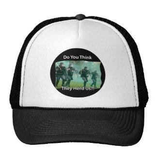 Usted los piensa nos reúne (oídos) policía gorras