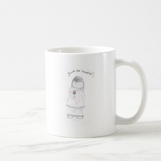 Usted más are_the_sweetest taza